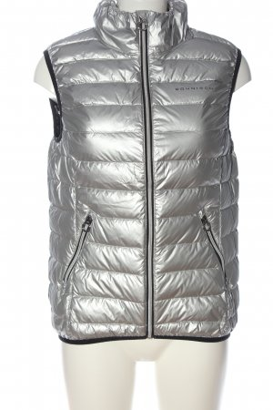 Röhnisch Quilted Gilet silver-colored quilting pattern casual look