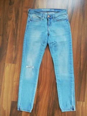 Noisy May Jeans a 7/8 azzurro