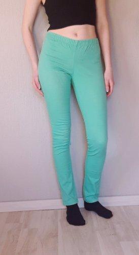 Pieces Drainpipe Trousers mint