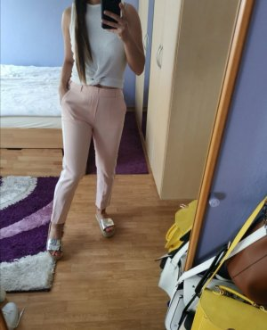 Drainpipe Trousers white-pink