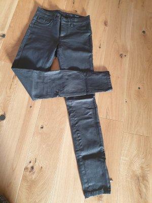 Noisy May Drainpipe Trousers black
