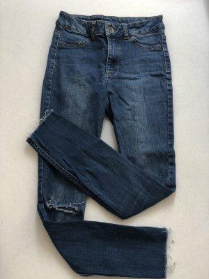 Calzedonia Tube jeans donkerblauw