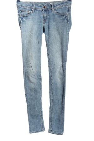 Röhrenjeans blau Casual-Look