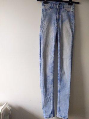 H&M Vaquero pitillo azul claro-azul celeste