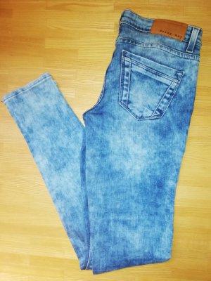 Noisy May Jeans de moto bleu azur-bleuet