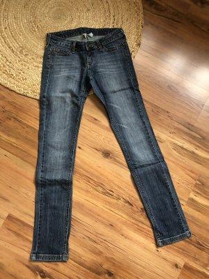 Mango Jeans cigarette bleuet