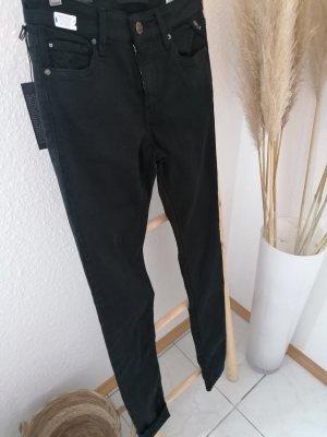 Replay Drainpipe Trousers black