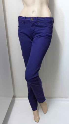 Wrangler Low Rise Jeans dark violet cotton