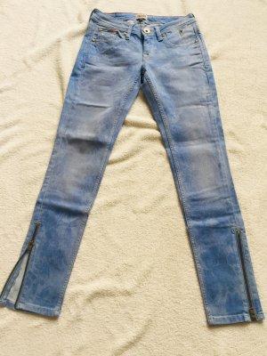 Hilfiger Denim Jeans cigarette bleu clair-gris ardoise