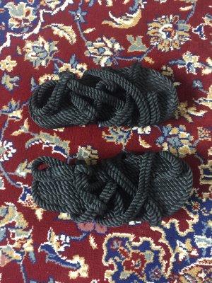 Sandalias romanas negro