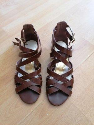 H&M Sandalias romanas marrón