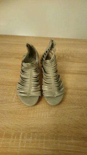 Sandalo romano grigio chiaro