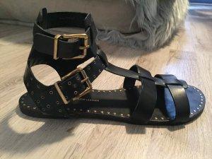 Cox Romeinse sandalen veelkleurig Leer