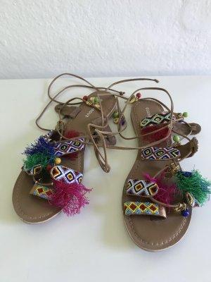 Glamorous Sandały rzymskie Wielokolorowy Skóra
