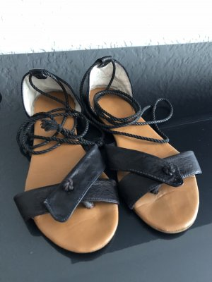 Sandalo romano nero