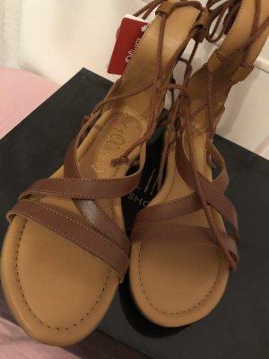 s.Oliver Romeinse sandalen bruin