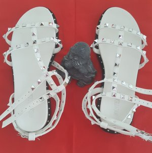 Bestelle Roman Sandals white-silver-colored