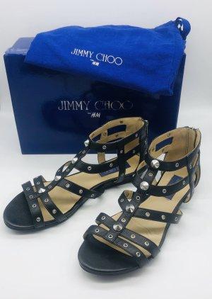 Jimmy Choo for H&M Sandalo romano nero