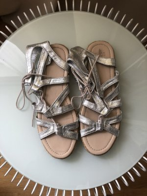 Asos Roman Sandals silver-colored-light brown