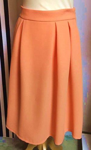Falda tulipán naranja claro