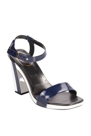 Roger Vivier Sandaletten dunkelblau-weiß
