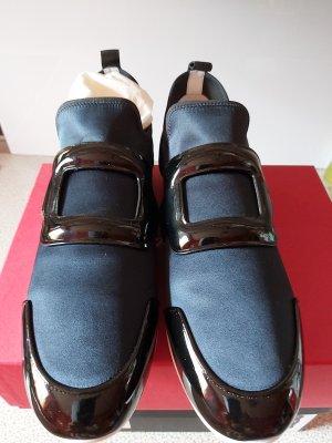 Roger vivier Sneakersy wciągane czarny-ciemnoniebieski