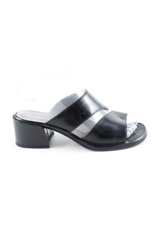 Rohde High Heel Sandaletten schwarz Casual-Look