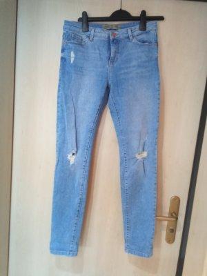 C&A Clockhouse Tube Jeans blue