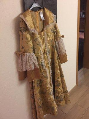 Maxi Dress gold-colored-white