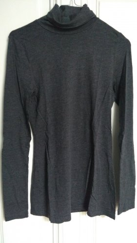 H&M Divided Turtleneck Shirt anthracite