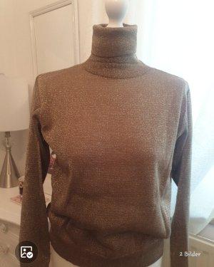 Koton Turtleneck Sweater gold-colored