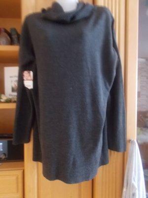 Long Sweater dark grey