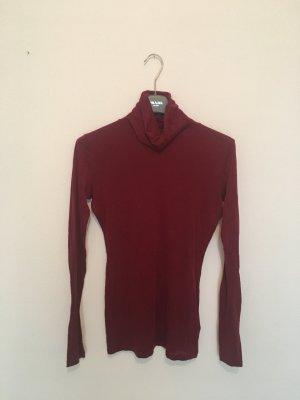 Rich & Royal Turtleneck Shirt carmine-dark red