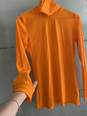 Dorothee Schumacher Turtleneck Shirt neon orange-orange