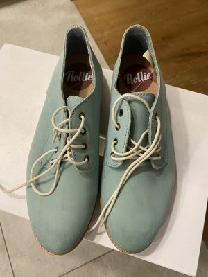 Lace Shoes lime-green-mint