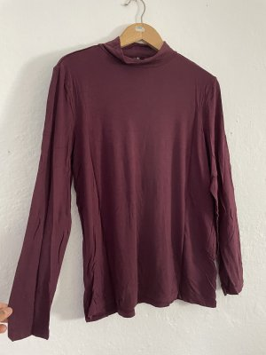 Turtleneck Shirt bordeaux