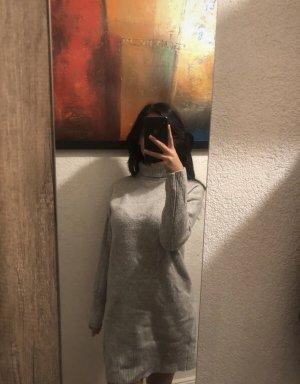 L.O.G.G Wollen jurk lichtgrijs-grijs