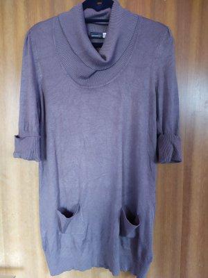 Esmara Sweater Dress brown-light brown viscose
