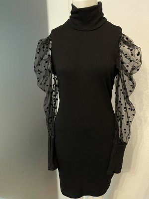 Sukienka tuba czarny