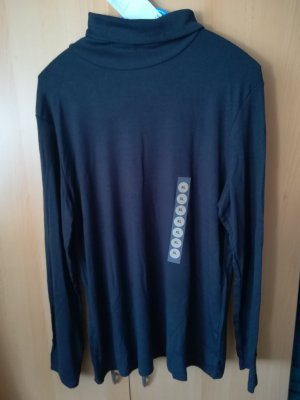 C&A Basics Koszulka z długim rękawem ciemnoniebieski Wiskoza