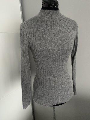 Primark Camisa de cuello de tortuga color plata