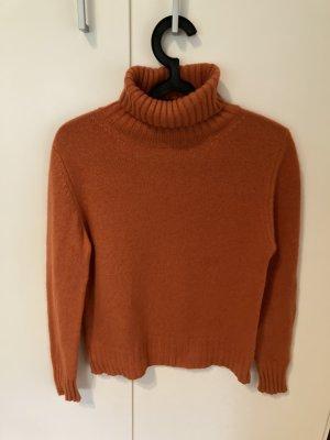 Cashmere Jumper orange cashmere