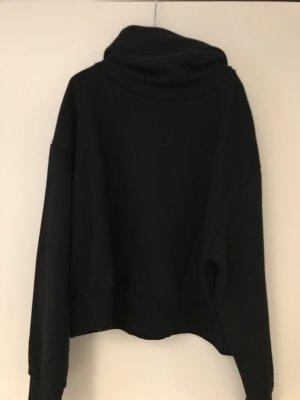Rollkragen Pullover schwarz Gr. M