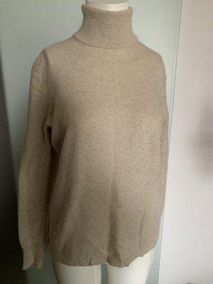 Rollkragen Pullover Wollmischung Gr 40 42 L von Milar Italy