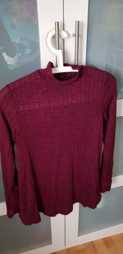 Tkmaxx Turtleneck Shirt anthracite-bordeaux