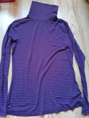 Esmara Camisa de cuello de tortuga púrpura-violeta oscuro