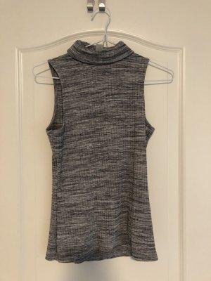 H&M Divided Maglia a collo alto grigio chiaro-grigio