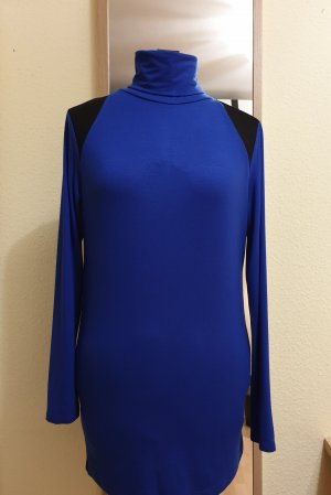 Byblos Long Shirt blue viscose