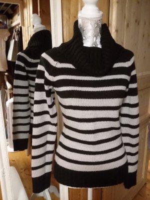 Blind Date Maglione lavorato a maglia nero-grigio