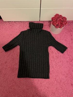 Zara T-Shirt black-grey